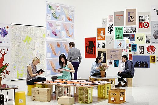 View of the exhibition Abraham Cruzvillegas: The Autoconstructucción Suites