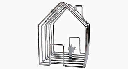 Wirehouse Magazine Holder