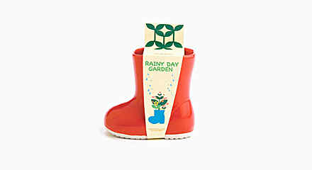 'Rainy Day Garden' Little Boot Planters