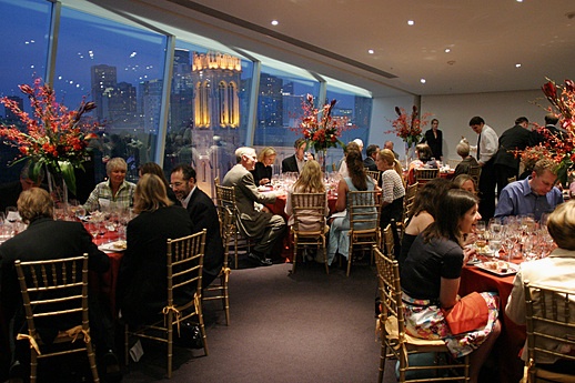 Dinner Event in Skyline Room