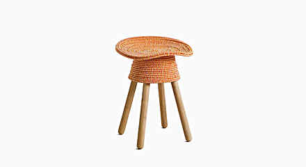 Coiled Stool by Harry Allen